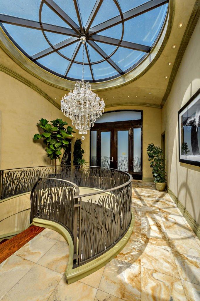 27154 Sea Vista Drive Malibu entry and staircase