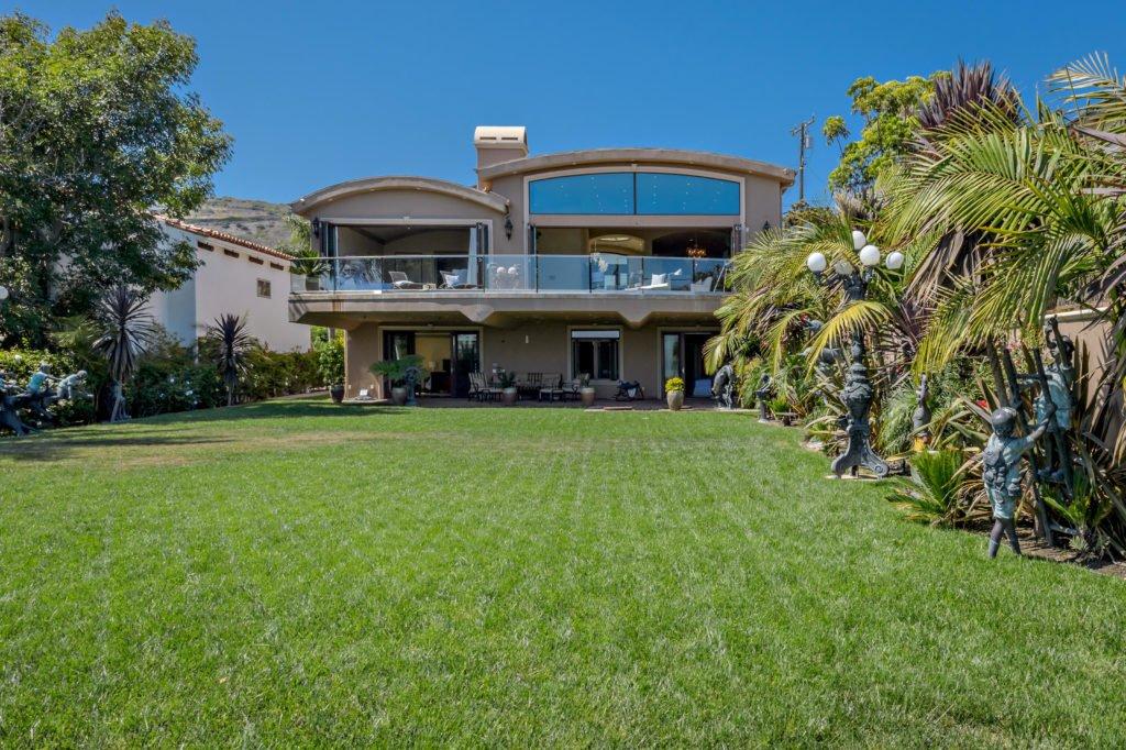 27154 Sea Vista Drive Malibu exterior back