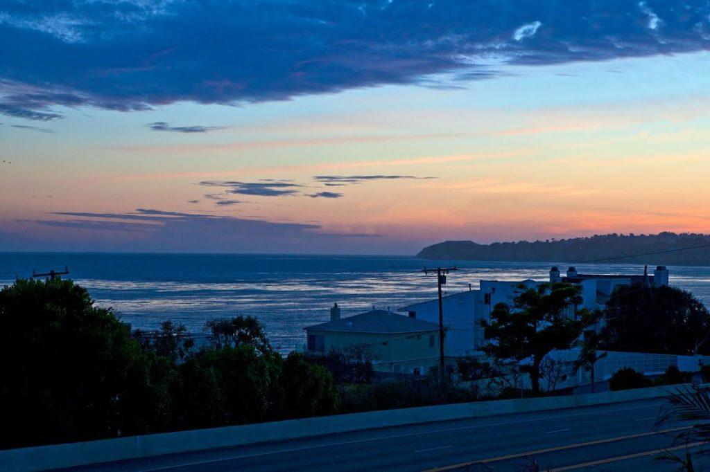 sea vista sunset